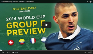 2014 World Cup Group E Preview & Predictions