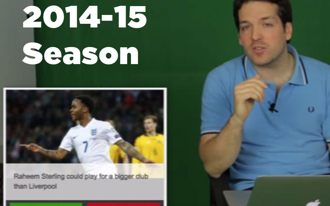 Football Fancast: 2014-15 Season